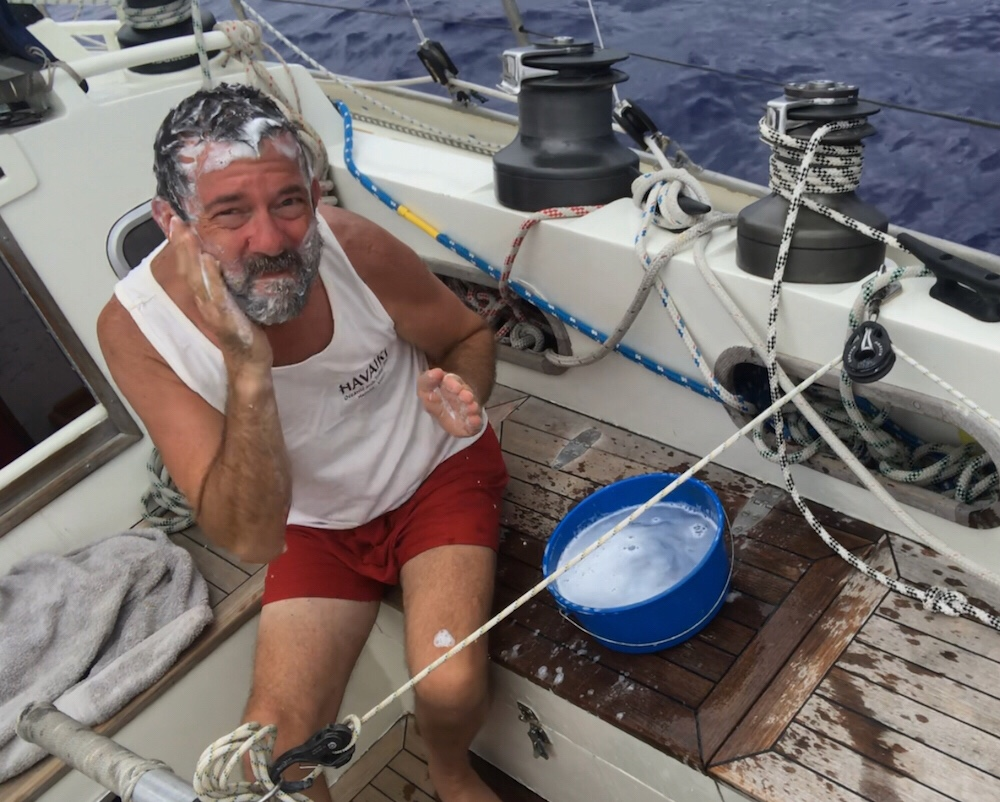 The Figure 8 Voyage Andrew Smith Bermuda Shorts Cokelat 33 We Drifted For A Couple Of Hours Then Wind Went Back To Its Now Usual Direction Sse So Off Go Making More Westing